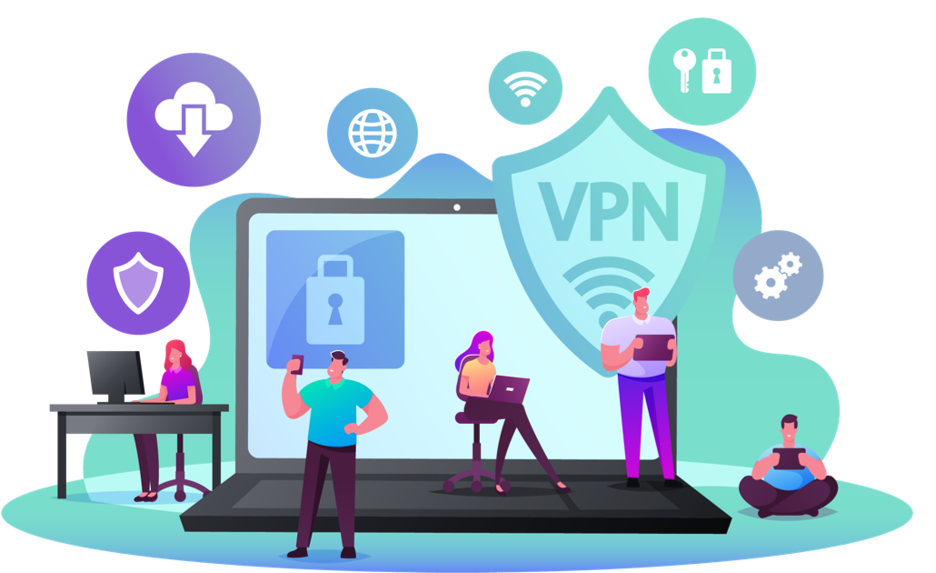 anonymously surfing the internet with Vista VPN